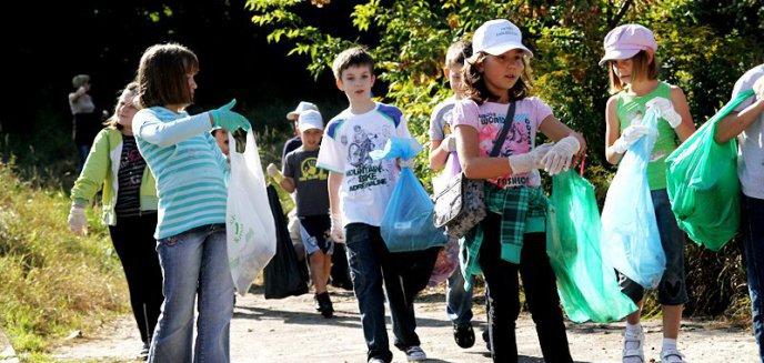 Sprzątanie Świata w Olsztynie! Zobacz jak dzieci poradziły sobie ze śmieciami