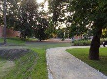 Kolejna część Parku Podzamcze już po liftingu