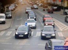 Kolejna kolizja nagrana przez kamery systemu ITS. Sprawcą motocyklista