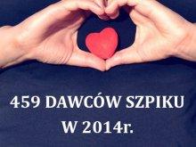 Dzień Dawcy Szpiku w dniu meczu Indykpol AZS Olsztyn - Transfer Bydgoszcz