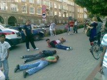 Łagodniejszy wyrok za pobicie czarnoskórych mężczyzn w centrum Olsztyna