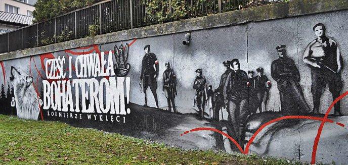 Nowy Mural Upamiętniający żołnierzy Wyklętych Olsztyn
