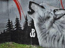 Nowy mural upamiętniający ''Żołnierzy Wyklętych'' powstał w Olsztynie (zdjęcia)