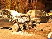 Groźny wypadek na trasie Pisz-Ruciane Nida