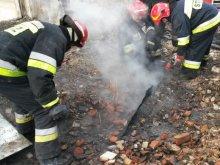Tragiczny pożar. Zginął 74-latek