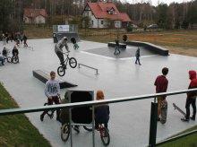 Skatepark pod Olsztynem już otwarty. ''Pełna profeska'' (zdjęcia)