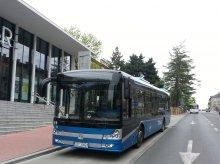 Autobus na ''błękitne paliwo'' w Olsztynie