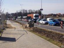 Kolejny ''drogowskaz'' dla błądzących po rozkopanym Olsztynie