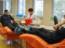 Policjanci z Warmii i Mazur oddawali krew dla potrzebujących [ZDJĘCIA]