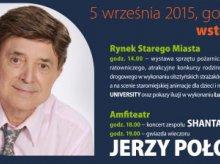 Jerzy Połomski gwiazdą kolejnej odsłony programu Bezpieczny Olsztyn