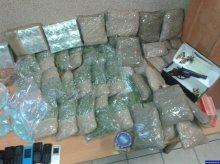 Narkotyki, broń i gotówka. Są zarzuty dla zatrzymanych dilerów