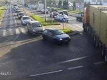 Mandat za blokowanie olsztyńskiego skrzyżowania. Czy będzie nauczką dla innych zmotoryzowanych?