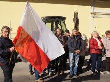 Rolnicy protestowali w Olsztynie