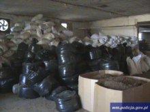 Zatrzymali 27 ton wyrobów tytoniowych wartych 12 mln złotych!