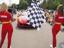 Ferrari Corsa Baltica. Superszybkie auta przyjechały do Olsztyna [ZDJĘCIA]