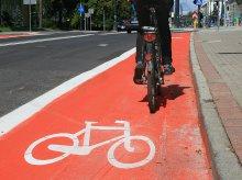 Zmiany na Kościuszki. Pasy rowerowe i likwidacja ''podwójnej ciągłej''