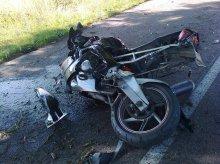Zginął 48-letni motocyklista