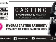 Aura Centrum włącza się w Fashion TV Model Search 2017