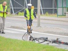 12-letni rowerzysta sprawcą kolizji na ul. Malewskiego