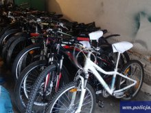 Policja odzyskała skradzione rowery. Czy któryś należy do Ciebie? [ZDJĘCIA]