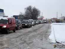 Paraliż komunikacyjny w Olsztynie