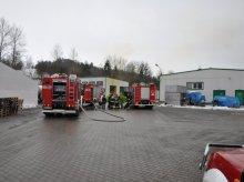 Wyciek kwasu azotowego z fabryki w Lidzbarku