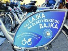 Powraca pomysł olsztyńskiego roweru miejskiego