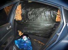 Pojemna mazda. Przewoził autem niemal 150 kilogramów suszu tytoniowego