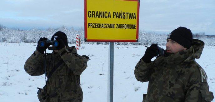 Słono zapłacą za ''selfie'' w pasie drogi granicznej