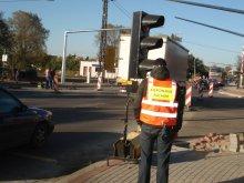 Pijani kierowali ruchem przy budowie obwodnicy Olsztyna