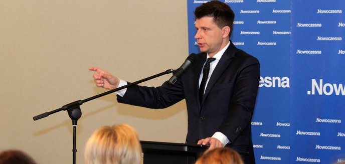 Petru w Olsztynie: ''Nie damy PiS-owi wypchnąć się z Europy''