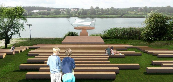 Amfiteatr i dwie plaże. Powstaje plan zagospodarowania brzegów jeziora w Dywitach