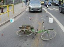 Jeden dzień - dwa wypadki z udziałem rowerzystów