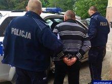 Agresor - recydywista ponownie aresztowany