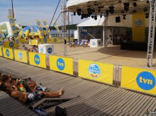 Projekt Plaża telewizji TVN ponownie w Olsztynie