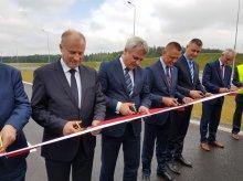 Odcinek S7 Nidzica-Napierki otwarty