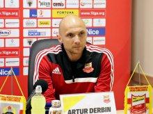Artur Derbin, były trener Chojniczanki Chojnice, poprowadzi Stomil w nowym sezonie!