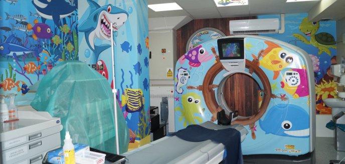 Nowy sprzęt i bajkowy tomograf. Dzień Dobrych Wydarzeń w olsztyńskim szpitalu dziecięcym