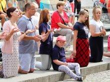 Ewangelizowali na ulicach Starego Miasta w Olsztynie [ZDJĘCIA]
