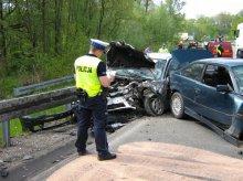 Groźny wypadek. 22-latka walczy o życie
