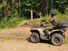 Agresywny kierowca z Olsztyna ukarany przy granicy