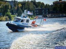 Policyjne motorówki znikają z jeziora Ukiel