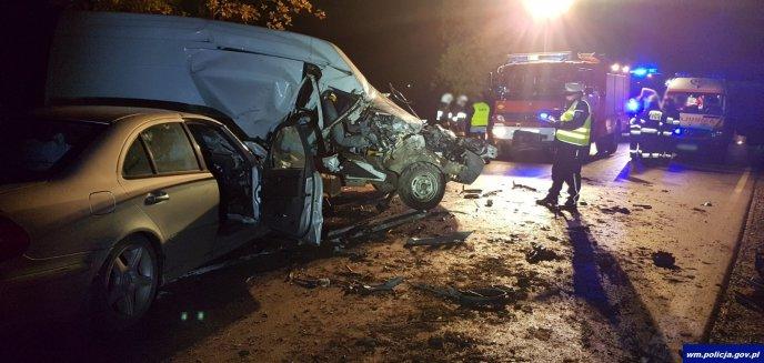 Poważny wypadek na trasie DK65 [ZDJĘCIA]