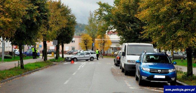 Wymusiła pierwszeństwo. 3-latek trafił do olsztyńskiego szpitala