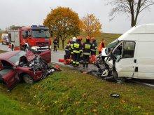 Groźny wypadek na trasie Ełk-Augustów