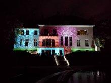Świetlne widowisko w Parku Podzamcze. Olsztyn obchodzi 664. urodziny