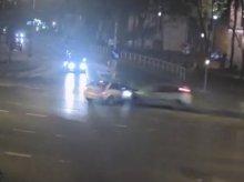 Kolejny wypadek na kolizyjnym lewoskręcie w Olsztynie [FILM]
