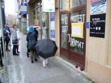 W Olsztynie przypominają PiS warszawską tragedię [ZDJĘCIA]
