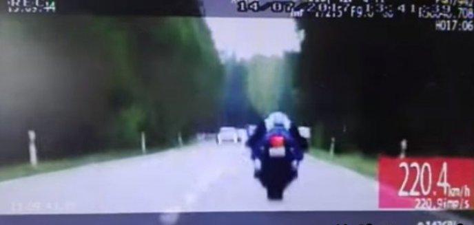 Jechał 220 km/h. Jest wyrok dla motocyklisty