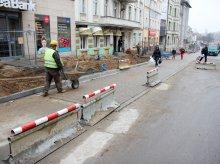 Ulica Pieniężnego na miesiąc przed otwarciem [ZDJĘCIA]